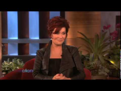 Sharon Osbourne on Ellen DeGeneres Show Video