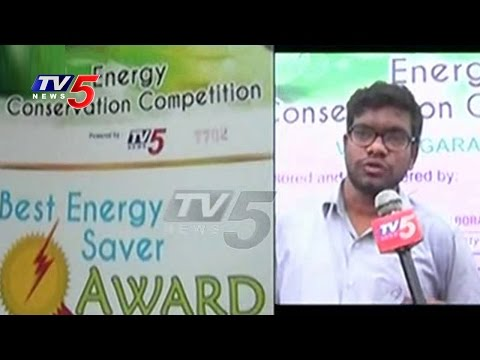 TV5 Vegesna Lab Awareness Program Over Power Saving | TV5 Energy Conservation Competition | TV5 News