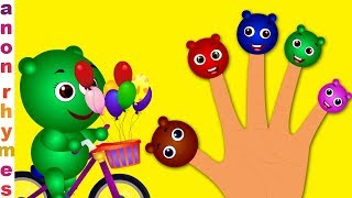 Educational Song For Children | Gummy Bear Finger Family | Nursery Rhymes & Kids Songs By Super Kids