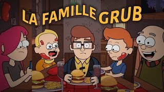 LA FAMILLE GRUB | Animation Short Film 2016 - POLE IIID