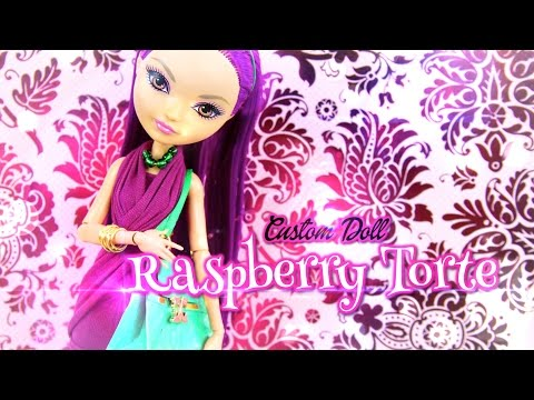 Custom Doll: Strawberry Shortcake Raspberry Torte - Doll Crafts