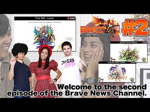 【BNC】the 2nd episode of the Brave News Channel / ブレイブニュースチャンネル 第二弾!今月もグローバル版ブレフロの最新情報をお届け!【ブレフロ】#2