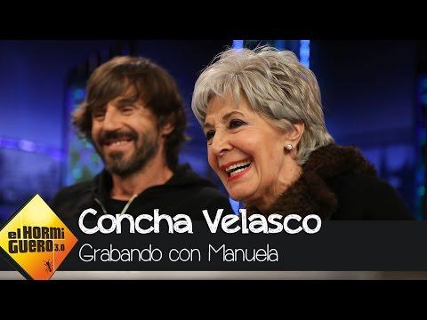 Concha Velasco y Manuela Velasco, tía y sobrina comparten escena en 'Velvet' - El Hormiguero 3.0