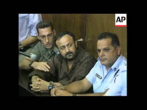 Trial of uprising leader Marwan Barghouti begins