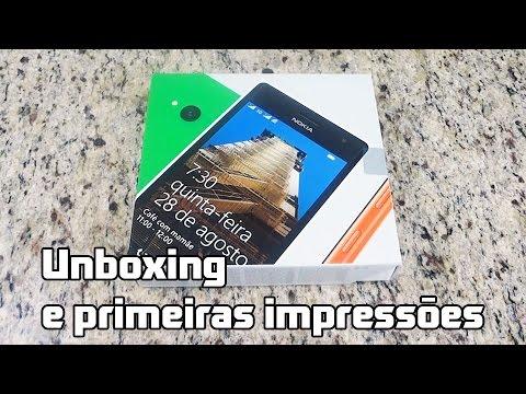 Nokia Lumia 730: Unboxing e primeiras impressões (PT-BR)