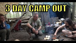 Bushcraft Camp Out in the woods