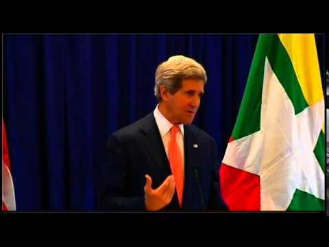 Secretary Kerry Comments on the South China Sea