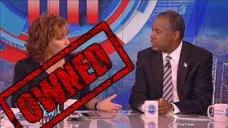 Ben Carson OWNS The View