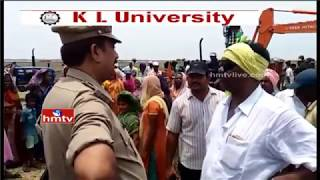 Clash Between Police and Public in Kolleru over Lake Digging
