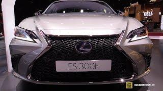 2019 Lexus ES300h F-Sport - Exterior and Interior Walkaround - Debut at 2018 Paris Motor Show