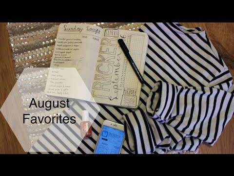 August Favorites | Food, Fashion, Beauty, Media, Tech, and Lifestyle