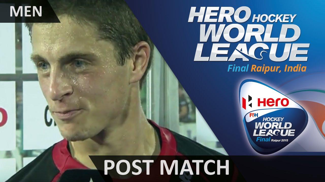Jerome Truyens Post Match Interview #HWL2015 #Raipur