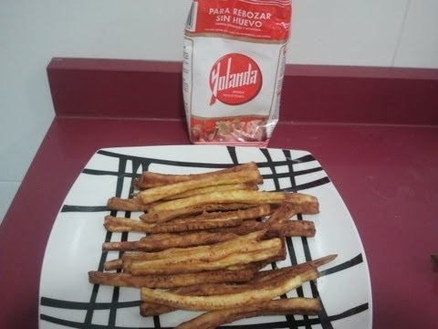 "Receta de ""Falsas patatas fritas"" en LSE"