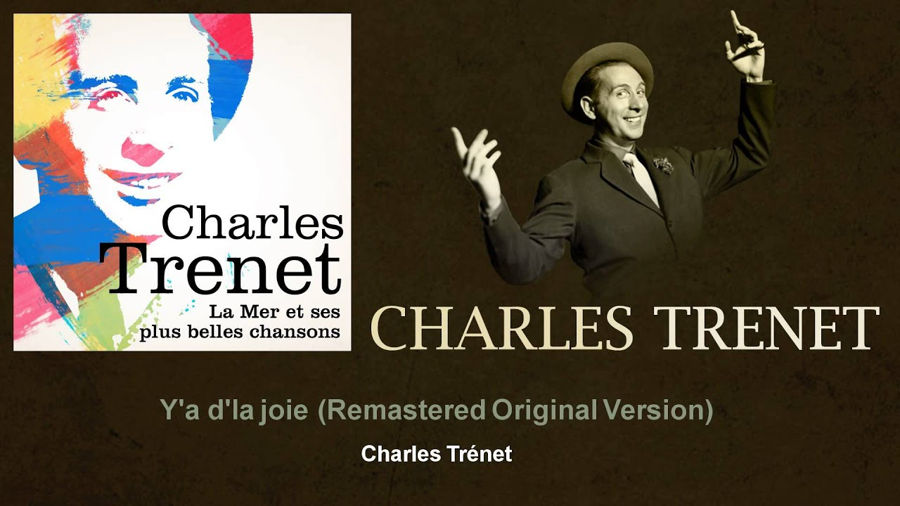 Charles Trenet - Rien Ne Peut Changer Ma Joie