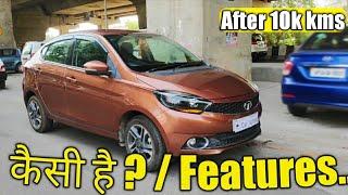 TATA TIGOR XZ Petrol   Honest Review After 10k kms   Features & Condition  #Car_School
