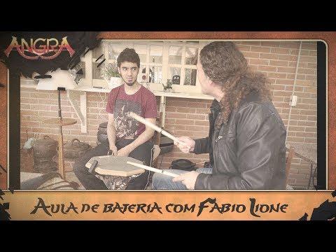Aula de Bateria com Fabio Lione (Compondo novas músicas em Campos) [Making of the New Album Pt. 5]
