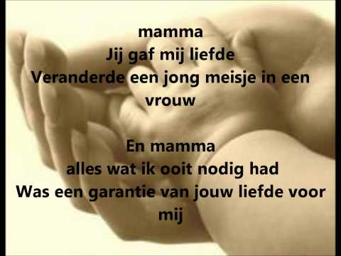 Celine Dion - Mama ( Goodbye's The Saddest Word) Vertaalt video