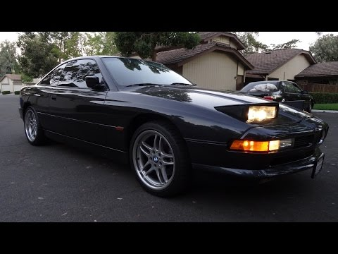BMW 840Ci Coupe Video Review For Sale 850Ci Body V8 Death / Estate Sale