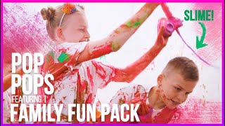 Pop Pops Music Video ft. Family Fun Pack! ⭐️🎶