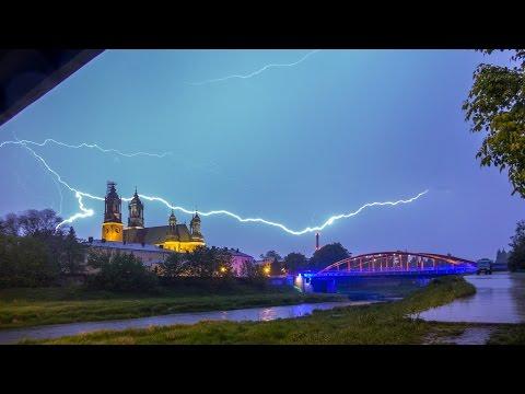 Burza 9 V 2015 W Poznaniu.