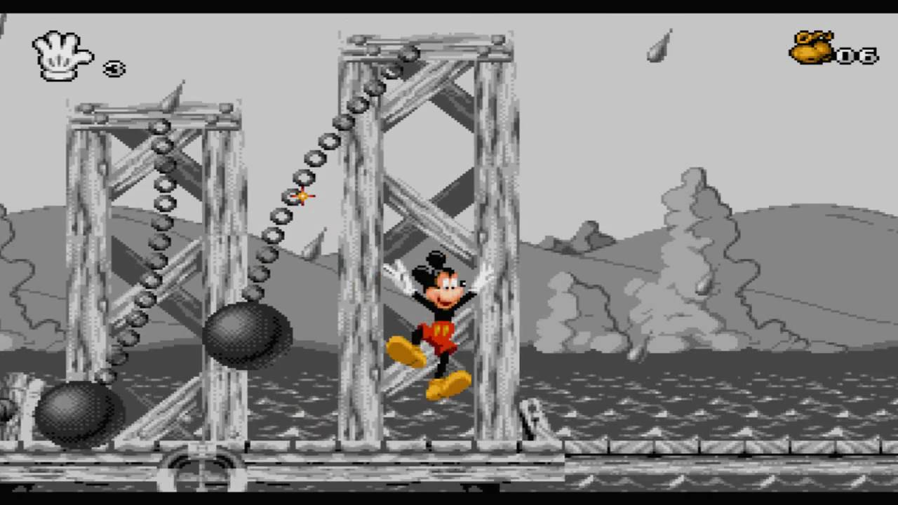 Mickey mania timeless adventures of mickey mouse sega genesis rom
