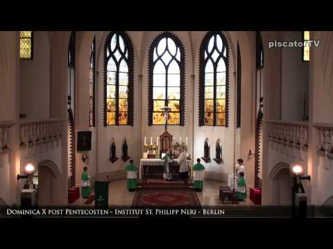 Dominica X post Pentecosten 02 Introitus - Traditional Latin Mass