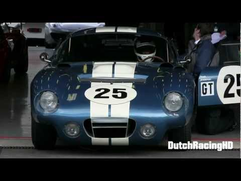 Shelby Daytona Coupe VERY LOUD V8 SOUNDS!!    [1080p HD]