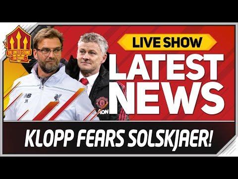 Klopp Fears Solskjaer Man Utd Test Man Utd vs rpool News