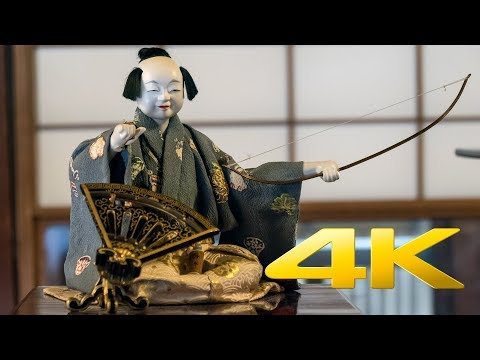 Karakuri puppet - からくり人形 - 4K Ultra HD