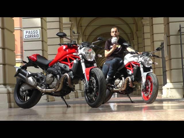 Vid�o Essai Ducati Monster 821 : Le