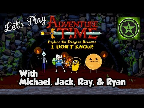 Let's Play - Adventure Time: Explore the Dungeon Because I Don't Know!