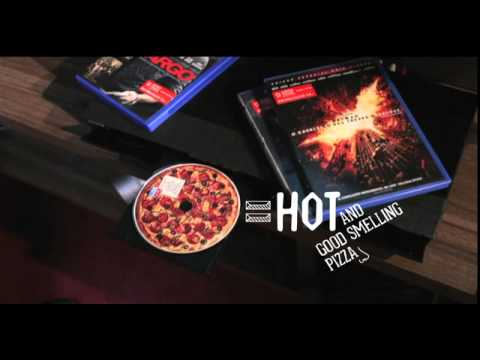 Domino's pizza DVD campaign