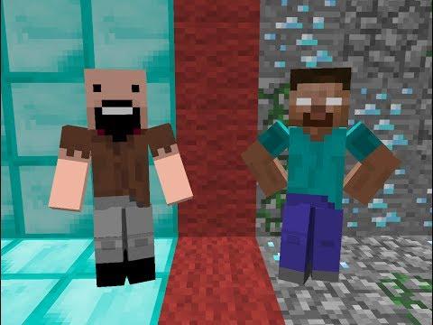 ERBoM. Нотч vs Хиробрин (Minecraft Анимация)