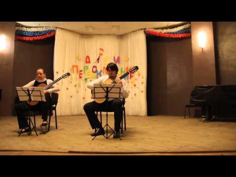 Скарлатти Доменико - Sonata L395 (Barbosa-Lima)