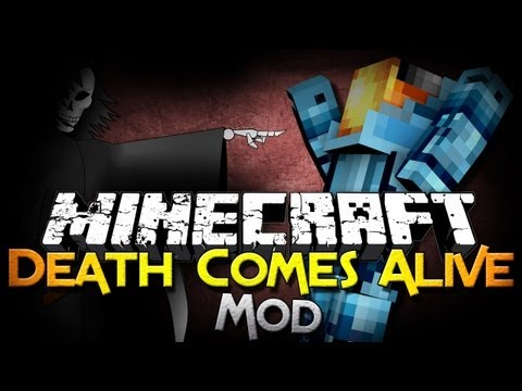 Minecraft Mod Showcase: Death Comes Alive - New Mobs, Items, and MORE!