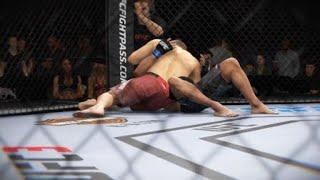 EA SPORTS™ UFC® 3 ranked champions