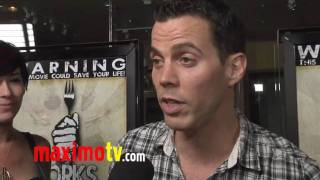 "STEVE-O Interview at ""Forks Over Knives"" Premiere"