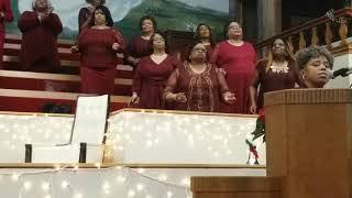 Jesus Christ is born  - South Park Baptist Church- Sister Williams