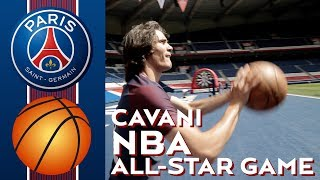 EDINSON CAVANI NBA ALL-STAR GAME