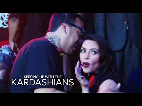 Kim K. Meets Khloe's New Man, French Montana | Keeping Up With the Kardashians | E!