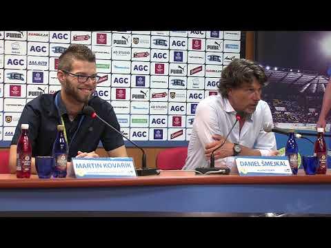 Tisková konference domácího trenéra po zápase Teplice - Jihlava (27.8.2017)