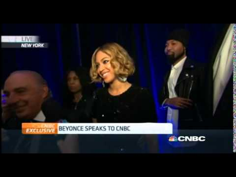 Beyoncé speaks to CNBC regarding her collaboration with Topshop (Nov. 4)