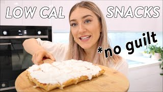 3 Healthy LOW CALORIE Snacks & Desserts | tasty & easy, high protein *weight loss*