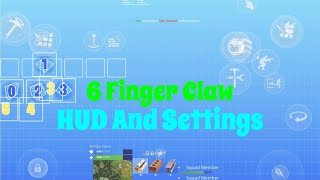 Fortnite Mobile 6 Finger Claw, HUD and Settings! iPad Pro 2018 11 inch