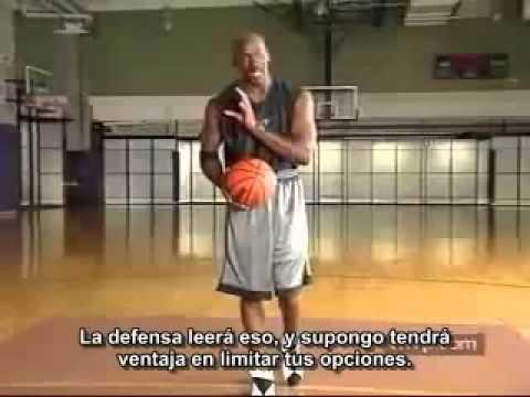 Basketball Tutorial - Crossover Shot (subtítulos castellano español) Michael Jordan
