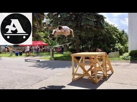 All I Need skateboards Central Mass Skate Festival 2018