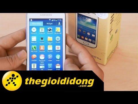 Trên tay Samsung Galaxy Trend Plus | www.thegioididong.com