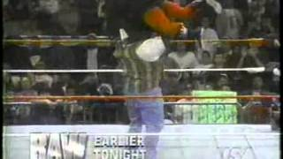 Mark Henry debut in WWE - March 11 1996