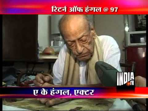AK Hangal returns to acting at 97