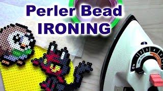 How I Iron Perler Beads (Masking Tape vs. Direct Fuse)